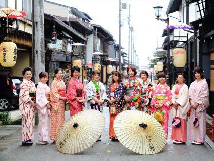 【達成しました】日本一着物の似合う街で『お寺で浴衣ショー』を開催したい!!